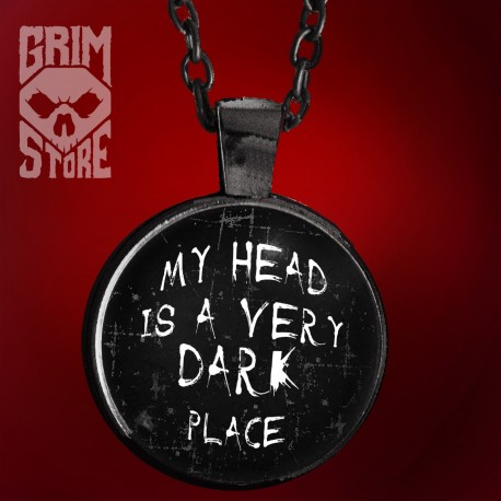 My head is a very dark place - jewellery