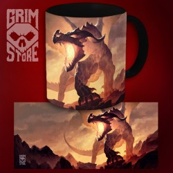 Fire Dragon - mug 330 ml