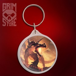 Fire Dragon - pendant