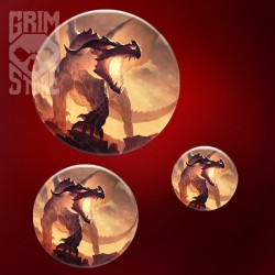 Fire Dragon - pin
