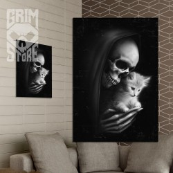Death with a kitty - poster