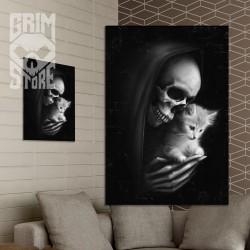 Śmierć z kotkiem - plakat