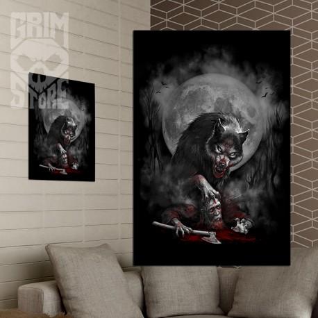 Wiking z wilkiem - plakat