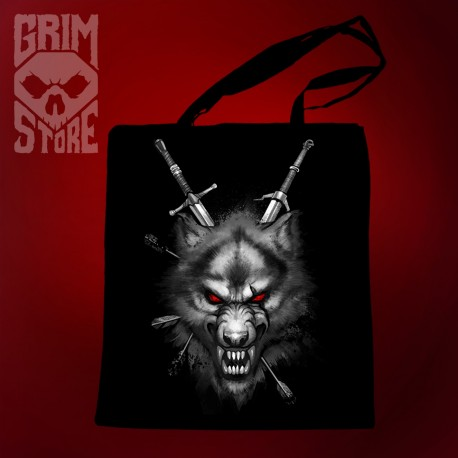 The Witcher wolf - eco bag