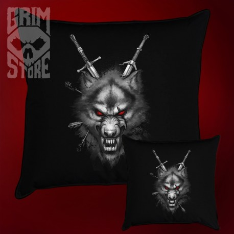 The Witcher wolf - pillow