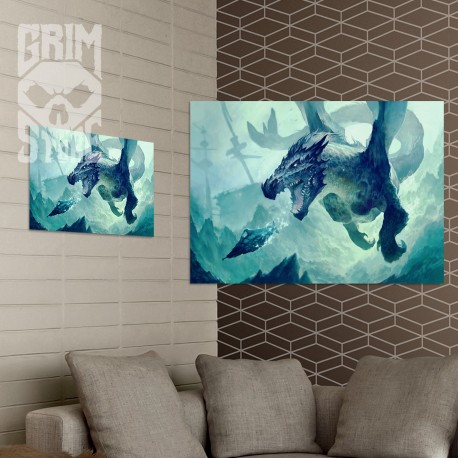 Underwater Dragon - poster