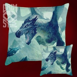 Underwater Dragon - pillow