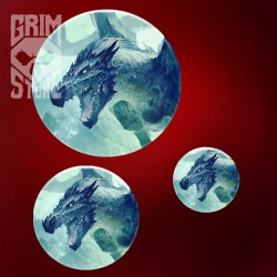Underwater Dragon - pin