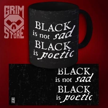 Black is not sad  - mug 330 ml