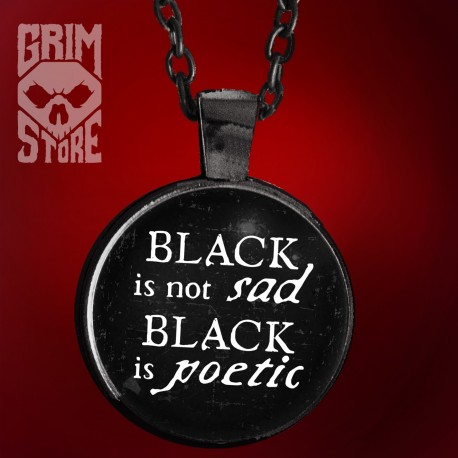 Black is not sad  - jewellery