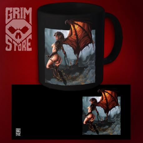 Flying Succubus - mug 330 ml