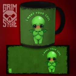 Cthulhu - I want your soul - mug 330 ml