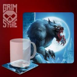 Werewolf  - mug coaster