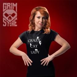 Crazy cat lady - teeshirt