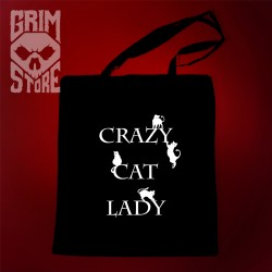 Crazy cat lady - eco bag