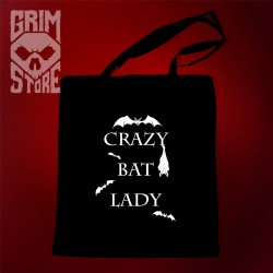 Crazy bat lady- eco bag