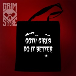 Goth girls do it better - eco bag