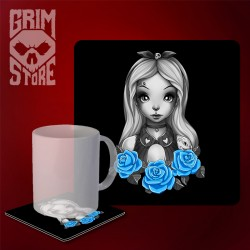 Alice - mug coaster