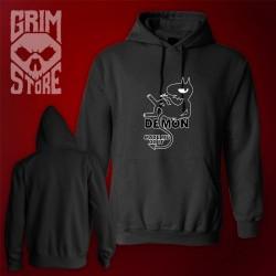 Demon made me do it - thin hoodie