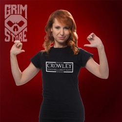 Vote for Crowley - teeshirt