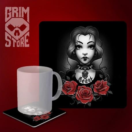 Bella - mug coaster