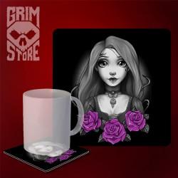 Rapunzel - mug coaster