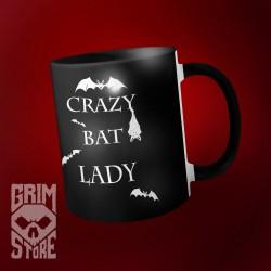 Crazy Bat Lady - mug 330 ml