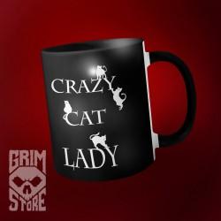 Crazy Cat Lady - mug 330 ml