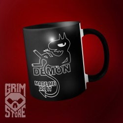 Demon made me do it  - mug 330 ml
