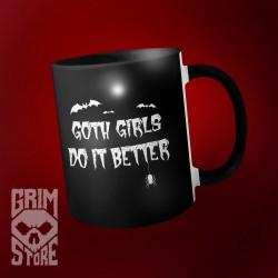 Goth girls do it better  - mug 330 ml