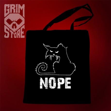 Kitty Nope - eco bag