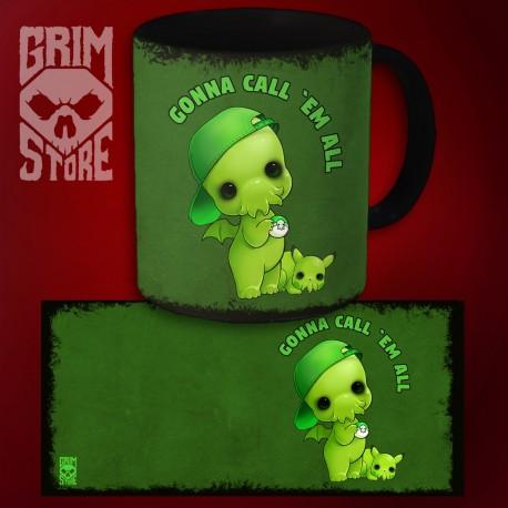 Cthulhu - Gonna call 'em all - mug 330 ml