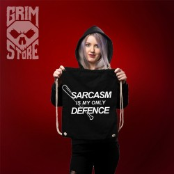 Sarcasm is my only defence - Backpack