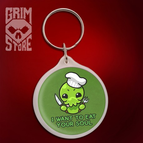 Cthulhu - I want to eat your soul - pendant