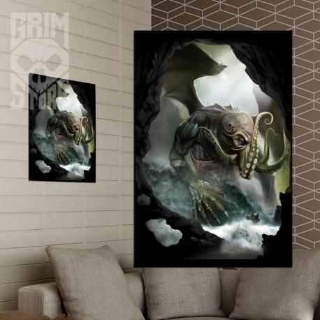 Cthulhu - Władca mórz - plakat