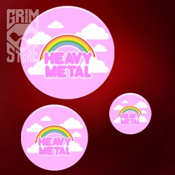 Cute Heavy Metal - pin